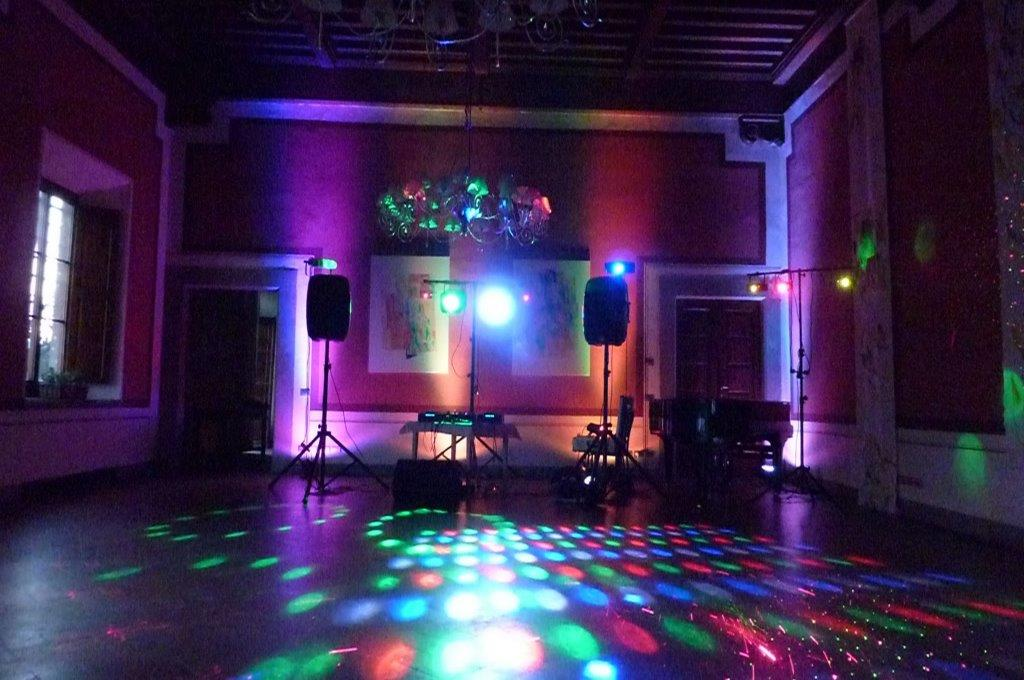 childrens disco setup