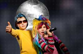 childrens karaoke discos Shabbington Buckinghamshire